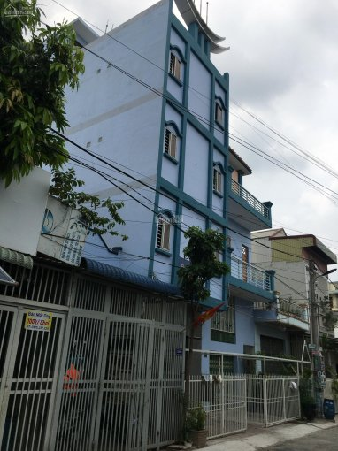 Bán nhà 1 trệt 3 lầu 450m2 sàn Vsip 1 KDC Minh Tuấn Bình Đáng, Bình Hòa, Thuận An, Bình Dương ảnh 0