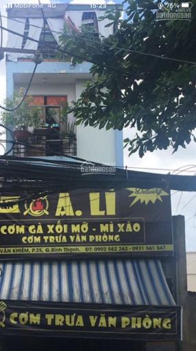 Chính chủ bán nhà 2 lầu mặt tiền Ung Văn Khiêm Phường 25 Bình Thạnh giá 22 tỷ 500tr TL ảnh 0