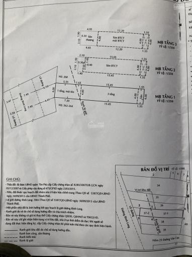 (Nhà bán) MTKD Bình Long, 4x25 - 3.5 tấm ảnh 0