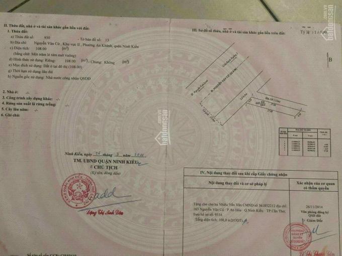 Bán nhà góc 2 mặt tiền Nguyễn Văn Cừ nối dài ảnh 0