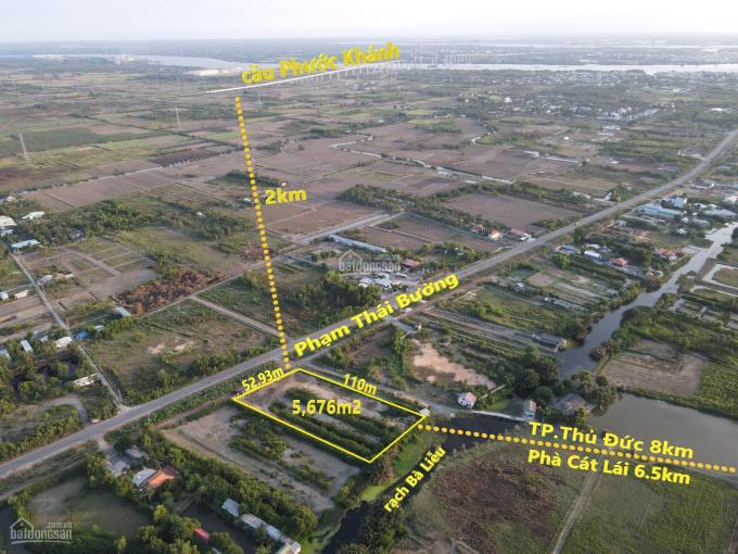 Mặt tiền Phạm Thái Bường, giá đầu tư tốt nhất khu vực, sát đường cầu Cát Lái PA mới nhất ảnh 0