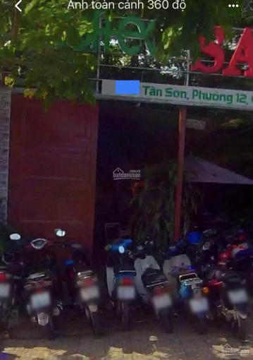 Cho thuê MB KD đường Tân Sơn P12 Q. Gò Vấp, DT 10 x 34m. Giá 40 triệu/tháng ảnh 0