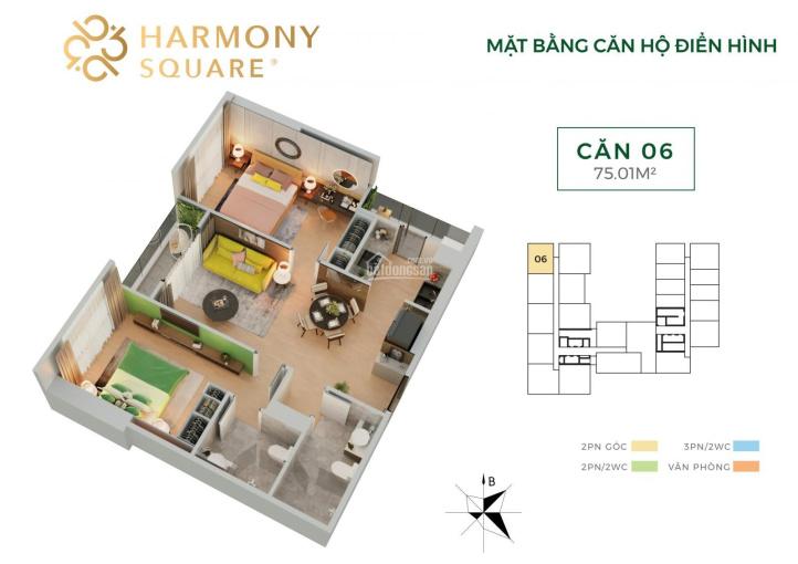 Căn hộ 2.6 tỷ trung tâm quận Thanh Xuân. Giao thông thuận lợi, tiện ích đầy đủ ảnh 0