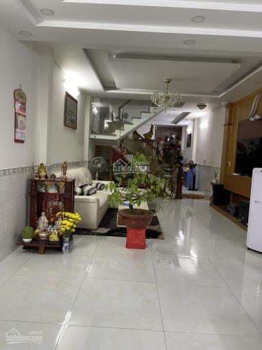 Bán nhà đẹp mặt tiền đường Lê Lâm khu nội bộ họ Lê, P. Phú Thạnh (4,5x19) nhà 1 trệt 1 lầu 1ST đẹp ảnh 0