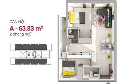 Chính chủ bán căn hộ 8x rainbow Ngọc Đông Dương, 2PN, 2WC, tặng nội thất cao cấp thủ tục A - Z. 1t9 ảnh 0