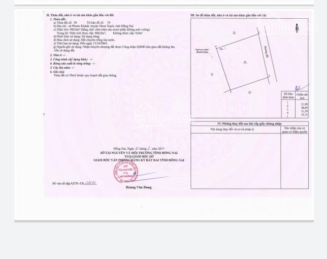 Chủ cần bán lô đất tại Phước Khánh, cách Phạm Thái Bường 1 sẹc, liên hệ 0866858836 ảnh 0