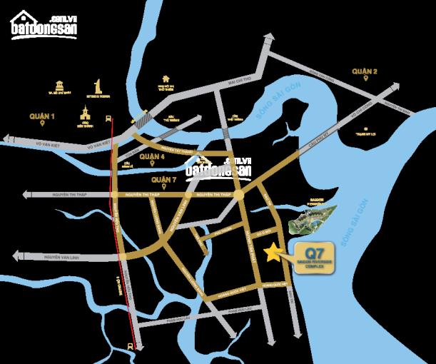 Q7 đường Đào Trí LK Phú Mỹ Hưng khu Nam Sài Gòn cuối năm bàn giao nhà, nội thất cao cấp view sông ảnh 0
