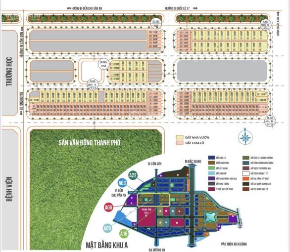 Đất nền Chí Linh Palm City chỉ từ 15tr/m2 sổ đỏ từng lô pháp lý rõ ràng nói không với sốt đất ảo ảnh 0