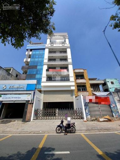 Cho thuê Tòa nhà mặt tiền Võ Văn Kiệt TT Quận 1 8.5x20m 10 tầng thang máy. Giá 200tr/tháng ảnh 0