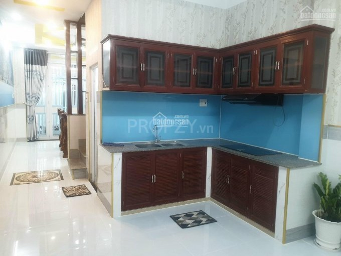 Bán nhà đẹp nở hậu P9, Q8, 2PN 2WC, tặng full nội thất, giá 4tỷ1 ảnh 0