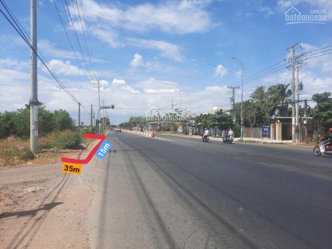 Chủ bán gấp lô đất MT đường TL44A xã An Ngãi, Long Điền, SĐR DT 15x35m sẵn 310m thổ cư. Giá 10tr/m2 ảnh 0