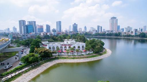 Hiếm có trung tâm Hà Nội - Nhà Ba Đình mặt hồ thoáng rộng nhiều cây xanh vỉa hè thang máy 14.8 tỷ ảnh 0