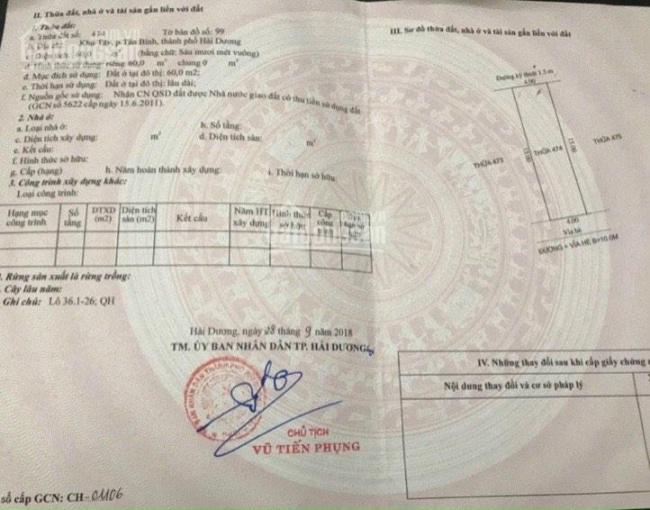 Bán gấp lô đất MT đường Nguyễn Viết Xuân khu An Phú chỉ 1,76 tỷ ảnh 0