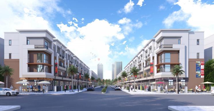 Chính chủ cần bán căn shophouse 4 tầng chân đế chung cư giá chưa đến 4 tỷ ảnh 0