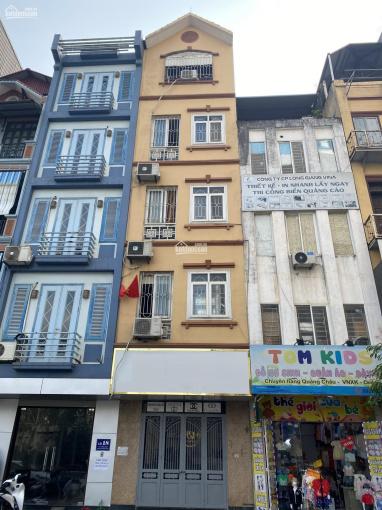 Nhà mặt ngõ 81 phố Trần Cung, phường Nghĩa Tân. Diện tích 55m2 x 5 tầng, ngõ rộng xe tải đi lại ảnh 0