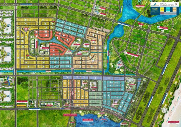 Dragon Smart City đường 10,5m, view kênh, Đông Nam, sạch đẹp, ngang 7,5m, dài 20m. LH: 0965192772 ảnh 0