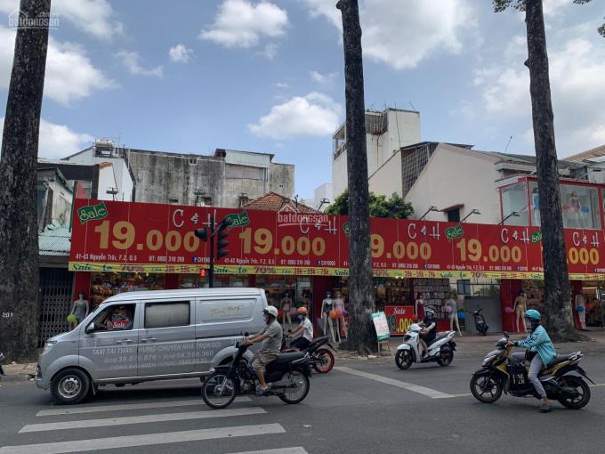 Sản phẩm đất lớn TT nhà cấp 4 tiện xây mới Building DT: 20x31m CN 603m2 Nguyễn Trãi, P2, Q5, 280 tỷ ảnh 0
