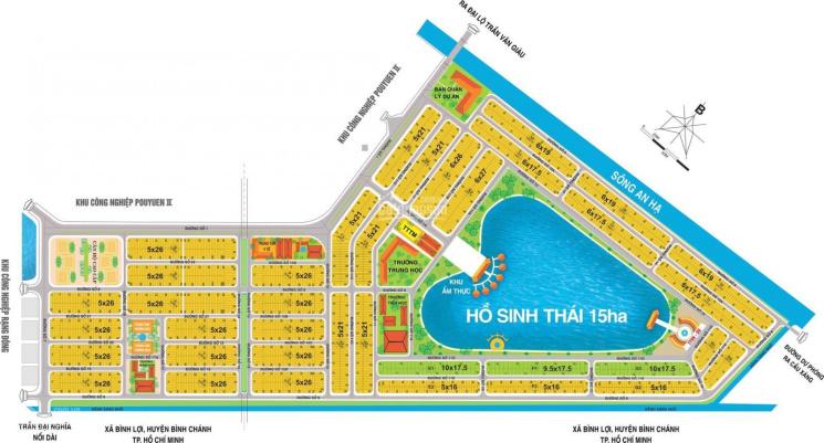 Đất chính chủ giá rẻ khu Tân Đô - Hương Sen Garden. 820 triệu/nền 130m2 ảnh 0