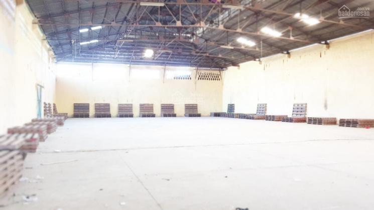 Cho thuê kho chứa hàng mặt tiền đường xe container chạy diện tích 1.500m2, sàn sơn Epoxy ảnh 0