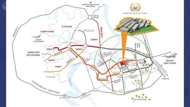 Đất nền đầu tư Nhơn Trạch Long Hội Central Point, giá chỉ 18 triệu/m2 ảnh 0