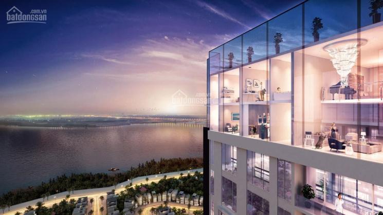 Sổ đỏ chính chủ bán căn lỗ căn Penthouse Duplex view sông còn sót lại của dự án giá 12,4 tỷ bao phí ảnh 0