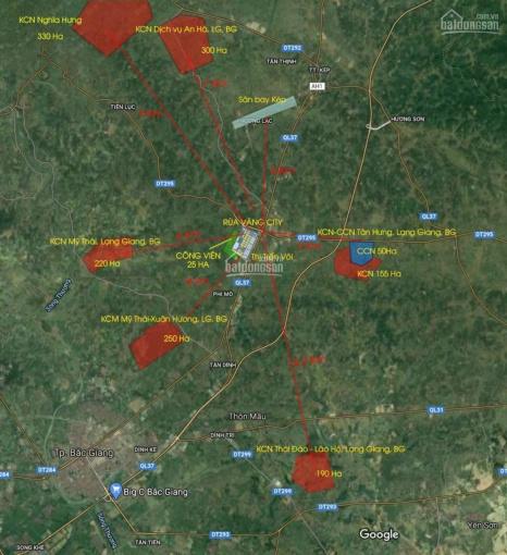 Bán suất ngoại giao giá từ 1,2 tỷ dự án phía Tây thị trấn Vôi - Rùa Vàng City ảnh 0