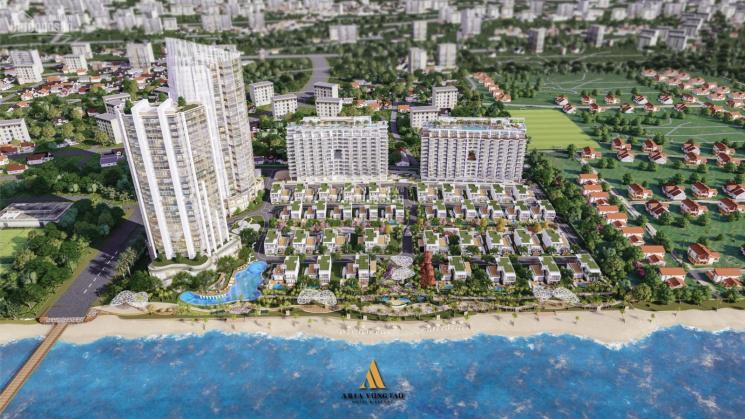 Dự án khu compound nghỉ dưỡng, bao gồm căn hộ trực diện biển và biệt thự bãi biển riêng ảnh 0