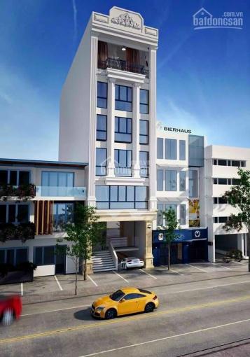 Bán tòa nhà Lạc Long Quân, DT 139m2, xây 7 tầng 1 hầm, MT 9m, LH 0931774286 ảnh 0