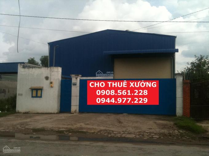 Cho thuê nhà xưởng mới xây phường An Phú Đông, quận 12. DT: 550m2 giá 23tr/tháng, LH 0937.388.709 ảnh 0