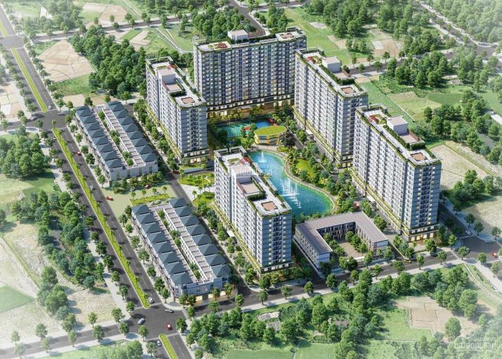 Căn hộ xã hội Ecohome Quy Nhơn 53m2, 2 phòng ngủ, giá 610 triệu, bán kính 200m đầy đủ tiện ích ảnh 0