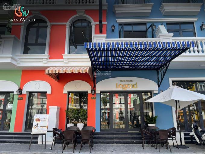 Chính chủ bán căn shophouse mặt sông Venice - Grand World Phú Quốc 81m2, cam kết 2 năm 10% ảnh 0