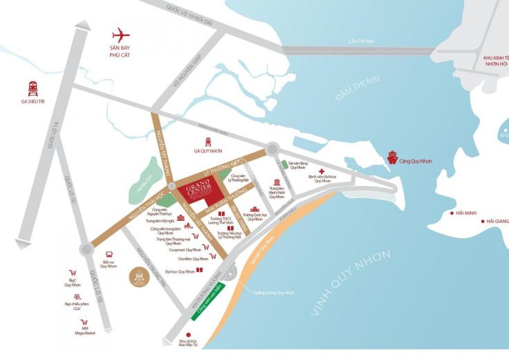 Cần bán giá hợp đồng căn Grand Center Quy Nhơn 09.10 view biển tầng 09. LH: 0938379755! ảnh 0