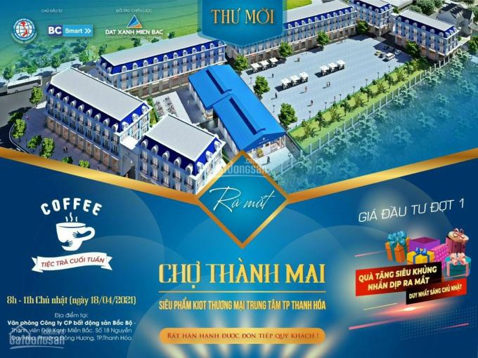 Ra mắt siêu phẩm ki - ốt chợ Thành Mai, phường Quảng Thành, TP. Thanh Hóa cơ hội đầu tư kinh doanh ảnh 0