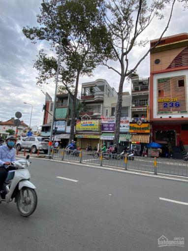 Mặt tiền kinh doanh với bề ngang 5.5m ngay góc ngã 4 Lê Hồng Phong - Trần Phú, Q5, 4 lầu giá 30 tỷ ảnh 0