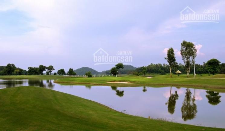 Bán gấp đất siêu đẹp 278.5 m2, MT 10.8m sát cổng sân golf Đồng Mô, giá 3.x tỷ. LH: 0933599555 ảnh 0