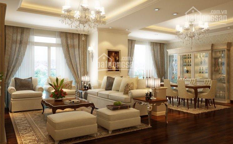 Bán căn hộ tòa nhà 172 Ngọc Khánh, DT 145 m2, căn góc, nội thất đẹp, giá 35 triệu/m2 ảnh 0