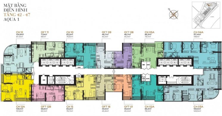 Bán căn hộ 4PN tòa Aqua 1 view trực diện Bitexco và sông Thủ Thiêm giá 29 tỷ, chỉ 1 căn duy nhất ảnh 0