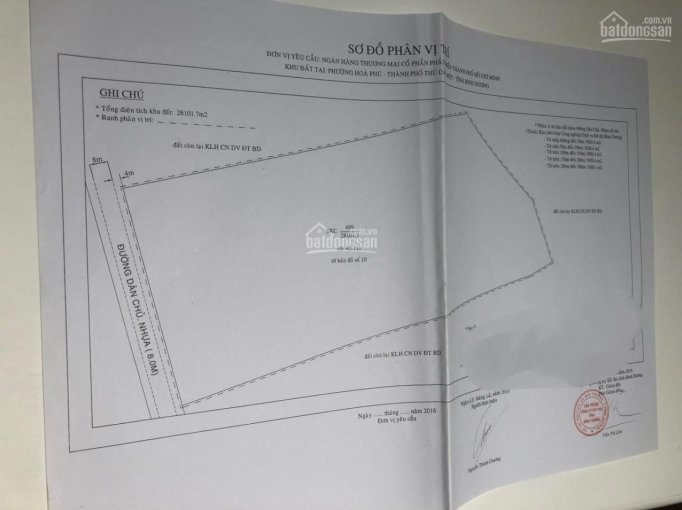 Bán đất đã lên hết SKC thích hợp đầu tư phát triển công ty, xí nghiệp trọng điểm sát KCN Vsip2 ảnh 0