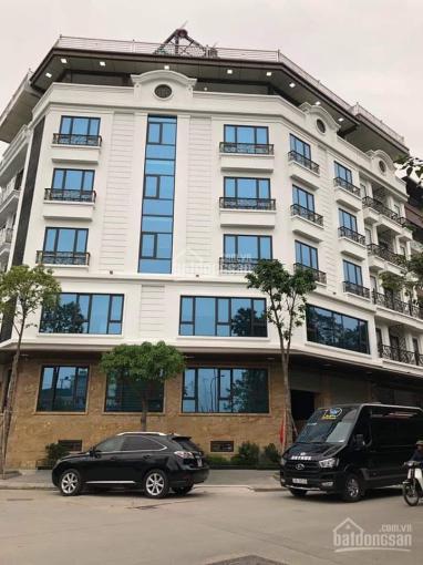 Cho thuê nhà mới hoàn thiện, Lê Văn Lương, 260m2* 7 tầng, 1 hầm, giá 240 triệu/th, LH 0968120493 ảnh 0