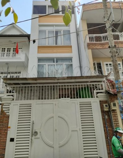 Cho thuê nhà mặt tiền khu đường D quận Bình thạnh diện tích là 5x20m 1 trệt 3 lầu ảnh 0