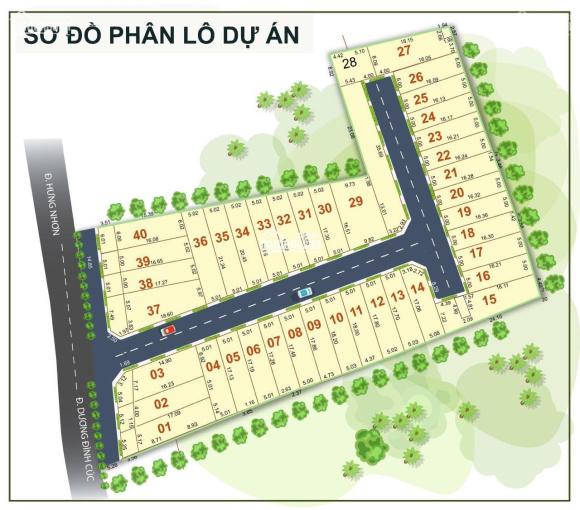 Bán đất KDC Tân Kiên, MT Dương Đình Cúc, P. Tân Kiên, Bình Chánh, 2.5 tỷ/nền 100m2. DC đông tiện KD ảnh 0