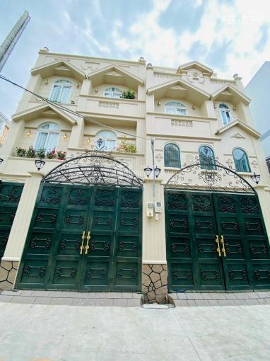 Bán nhà mới xây kiến trúc Châu Âu DT 6,8 x 13m, tặng full nội thất mới 100% ảnh 0