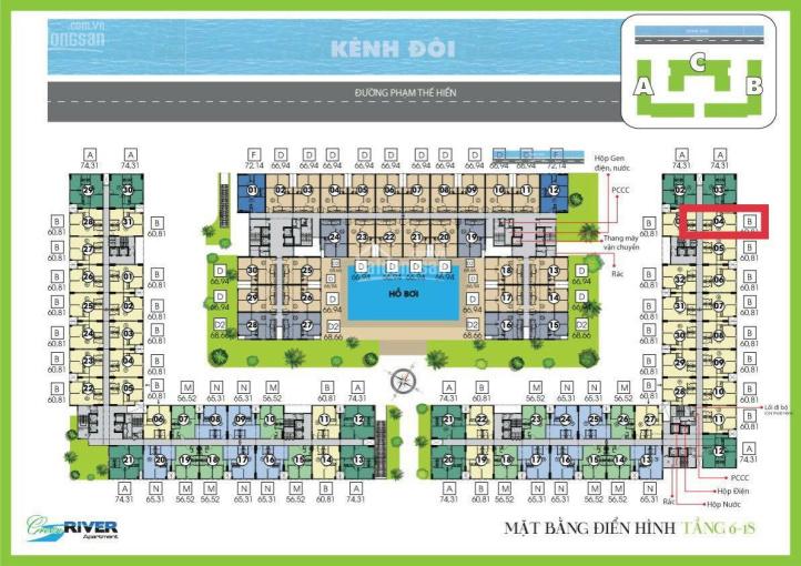 Bán gấp căn tầng 19 hướng bao mát - căn góc - view Q1 giá 1,8tỷ (bao sổ, phí bảo trì, phí quản lý) ảnh 0