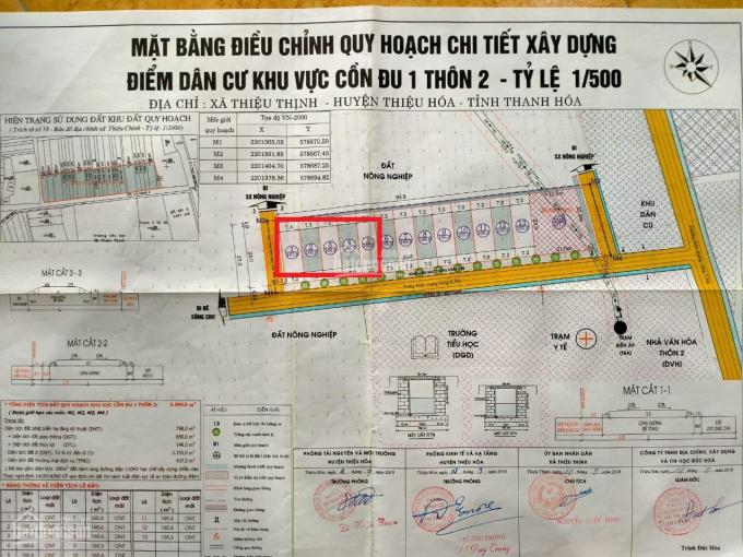 Chính chủ em bán nhanh 5 lô đất cạnh KCN Giang Quang Thịnh Thiệu Hóa ảnh 0