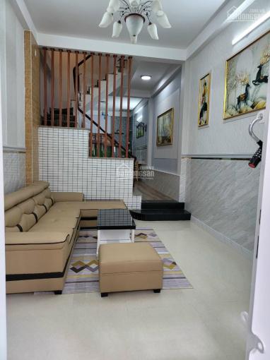 Bán nhà đường Phan Huy Ích P12 Gò Vấp, DT 3,6x16m đúc 3 tấm, có 4PN, sân thượng, PT, sân. Giá 4,8tỷ ảnh 0
