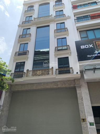 Cho thuê nhà MP Đường Thành: 110m2 x 4,5 tầng, MT: 5m, thông sàn, thang máy, rb. LH: 0974557067 ảnh 0