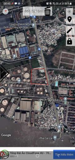 LH 0972772829 Đất kho bãi. Mặt tiền đường Nguyễn Thị Định - Cát Lái ảnh 0