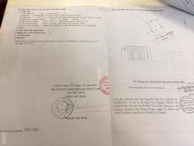 Bán đất đường Nguyễn Thị Da, Củ Chi giá rẻ ảnh 0