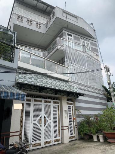 Biệt thự KDC Đại Hải đúc 3 lầu. DT: 12m x 14m sổ hồng đường Phan Văn Hớn, Hóc Môn ảnh 0