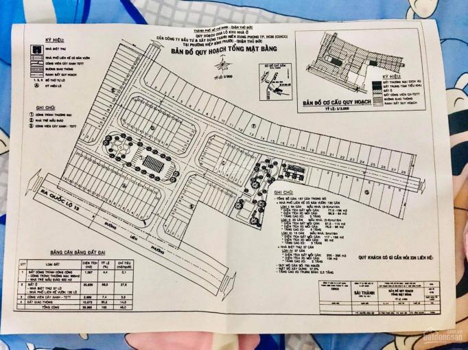 Đất MT Đường Số 4, Khu Thanh Niên Xung Phong, Đường Hiệp Bình, Thủ Đức. Giá 5 tỷ 5 - 100m2 ảnh 0
